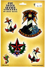 OLD SCHOOL TATTOO FLASH ALL WEATHER WINDOW DECAL STICKER SET BY ADAM POTTS