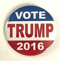 "// Gun Owners Campaign Button xmas Large Size 2016 Donald Trump 3/"""