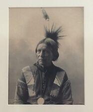 Frank F A Rinehart Peatwy Tuck Sac Fox (Sauk Meskwaki) Indian Photograph 1898