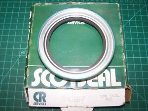CR 34387 Wheel Seal Bearing fits Chevrolet C60, Ford F250, C700