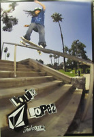 VOLCOM skateboard 2010 Louie Lopez BIG promo poster New Old Stock Flawless