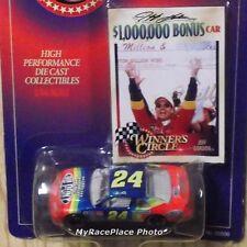 #24 Jeff Gordon 1/64 NASCAR Diecast Stock Car _ 1997 *MILLION* $1,000,000 BONUS