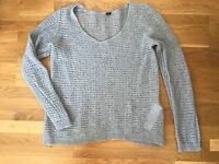 Schöner Pullover grau von S.Oliver Selection Größe 42!