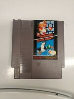 Super Mario Bros. / Duck Hunt - Nintendo Entertainment System- NES -Tested/Works