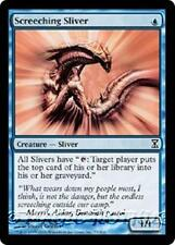 SCREECHING SLIVER Time Spiral MTG Blue Creature — Sliver Com