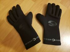 New Deep See Size Small Nylon Rubber Dive Gloves - Free Shipping