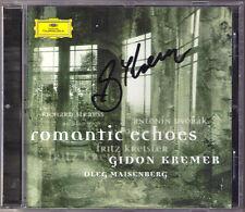 Gidon KREMER Signiert Romantic Echoes STRAUSS Violin Sonata DVORAK KREISLER CD