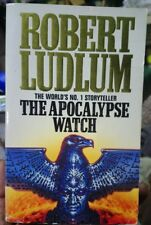 The Apocalypse Watch by ROBERT LUDLUM - 1996 Small PB AU Stock Free shipping