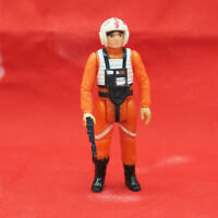 Vintage Star Wars Luke Skywalker X Wing Pilot Action Figure w/ Weapon