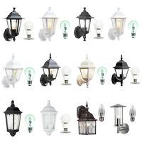 Traditional Garden Wall Lights / Outdoor Lanterns. Motion Sensor / LED options