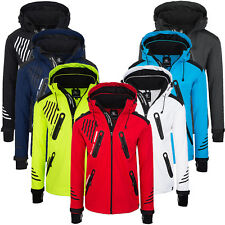 Rock Creek Herren Softshell Jacke Outdoorjacke Windbreaker Übergangs Jacke H-140