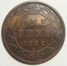 1882 H CANADA ONE 1 CENT VICTORIA LARGE PENNY COIN