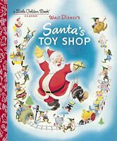 Santas Toy Shop (Disney) (Little Golden Book) by Al Dempster