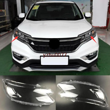 2015 Fit For Honda CRV CR-V ABS Left & Right Headlight Headlamp Lens Cover 2pcs