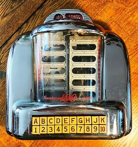 SEEBURG 100 3W1 WALLBOX WALL-O-MATIC with matching LOCK and KEY!!