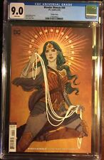 Certified CGC 9.0 VF/NM DC Wonder Woman #49B (vol. 5) JENNY FRISON VARIANT