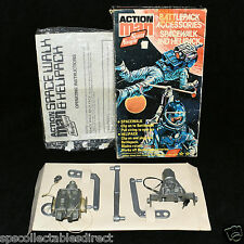 ☆ VAM Palitoy Action Man ☆ Rare Space Walker & Helipack MIB Complete ☆
