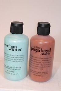 Philosophy 2 Pack Assorted Hair, Bathy , Body Wash 6 fl. oz.x2 NEW USA
