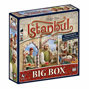 Istanbul: Big Box Board Game SEALED UNOPENED FREE SHIPPING