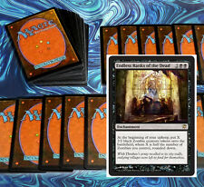 mtg BLACK ZOMBIES EVER AFTER DECK Magic the Gathering rare cards