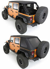 07-18 JEEP WRANGLER UNLIMITED ProT3K Triple Layer Bowless Soft Top Tint Windows