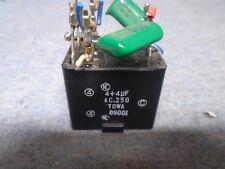AKAI GX-620 GX-625 METALLIZED POLYESTER / C.4 + 4UF (M) 250VAC P/N EC316065