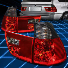 For BMW 2000-2006 E53 X5 Smoked Full LED Rear 3rd Third Brake Tail Light/Lamp