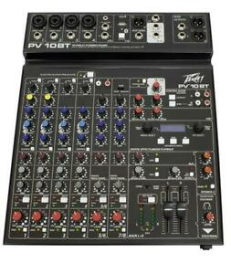 Peavey PV 10 BT 10-channel Mixer W/ Bluetooth *GREAT VALUE*