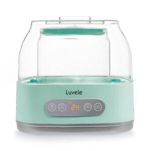 Luvele Pure PLUS Yoghurt Maker Yogurt Includes 2L Glass Container GAPS SCD Diet