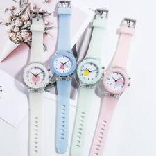 Children Candy Color Luminous Quartz Watch Fashion Kids Boy Girl Wrist Watch