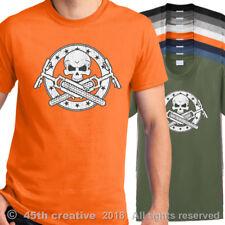 Mt Camiseta de Motociclista Bicicleta Montaña Calavera Huesos Bici Pista Camisa