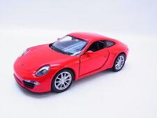 1:87 gelb Welly Porsche 911 991 #73151 Carrera S
