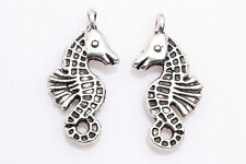 30pcs Tibet Silver Hippocampus Spacer Pendant Charm Jewelry Finding 23x12mm