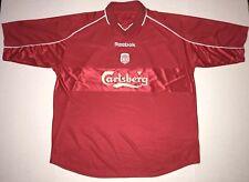 Vintage Reebok Liverpool Steven Gerrard Jersey Sz XL EPL Carslberg