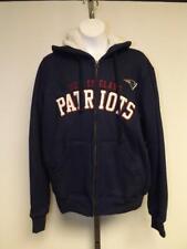 New England Patriots Womens Size M Medium Sherpa Full Zip Jacket Hoodie