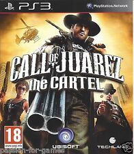 CALL OF JUAREZ THE CARTEL for Playstation 3 PS3 - with box & manual