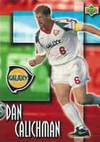 1997 Upper Deck Bandai Major League Soccer - Los Angeles Galaxy - Base Commons
