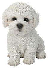 Vivid Arts Pet PAL Dog Bichon Frise Puppy Ornament Decoration Gift Unboxed 14cm