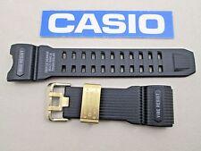 Genuine Casio G-Shock Mudmaster GWG-1000GB-1A black resin watch band strap