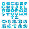 """Gold & Silver 16"""" Alphabet Letter Number A-Z Foil Balloons NAME WEDDING PARTY"""