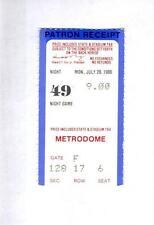 Minnesota Twins vs Se Mariners Ticket Stub July 28 1986 Puckett HR (Sku-48273)DP
