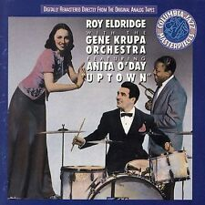 """Roy Eldridge with the Gene Krupa Orchestra Featuring Anita O'Day """"Uptown"""" (CD)"""