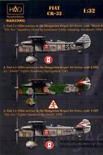 Hungarian Aero Decals 1/32 FIAT CR-32 Italian WWII Fighter