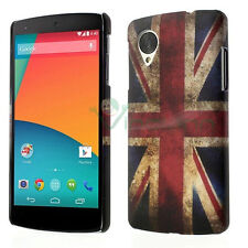 Custodia rigida bandiera inglese INGHILTERRA per LG Nexus 5 D820 cover vintage