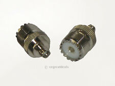 "New Uhf-Female So239 to Sma Female Plug Rf Antenna Connector Adapter Length 1"""