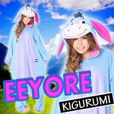 """NEW! Disney """"Eeyore"""" Japanese Kigurumi costume party pajamas Japan original"""