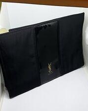 Authentic YSL Beaute Black Make Bag Evening Clutch Bag