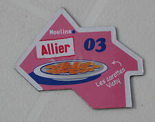 03 ALLIER MAGNET LE GAULOIS CARTE NOUVELLE COLLECTION DEPART AIMANT