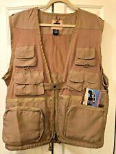 HUMVEE Combat Vest Nylon Khaki 14 Pocket Photography, Fishing, Birding, Safari