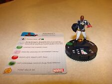 #021 Marvel Heroclix Civil War Patriot with card